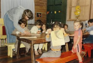Childcare and help in the community by the Belmar Family